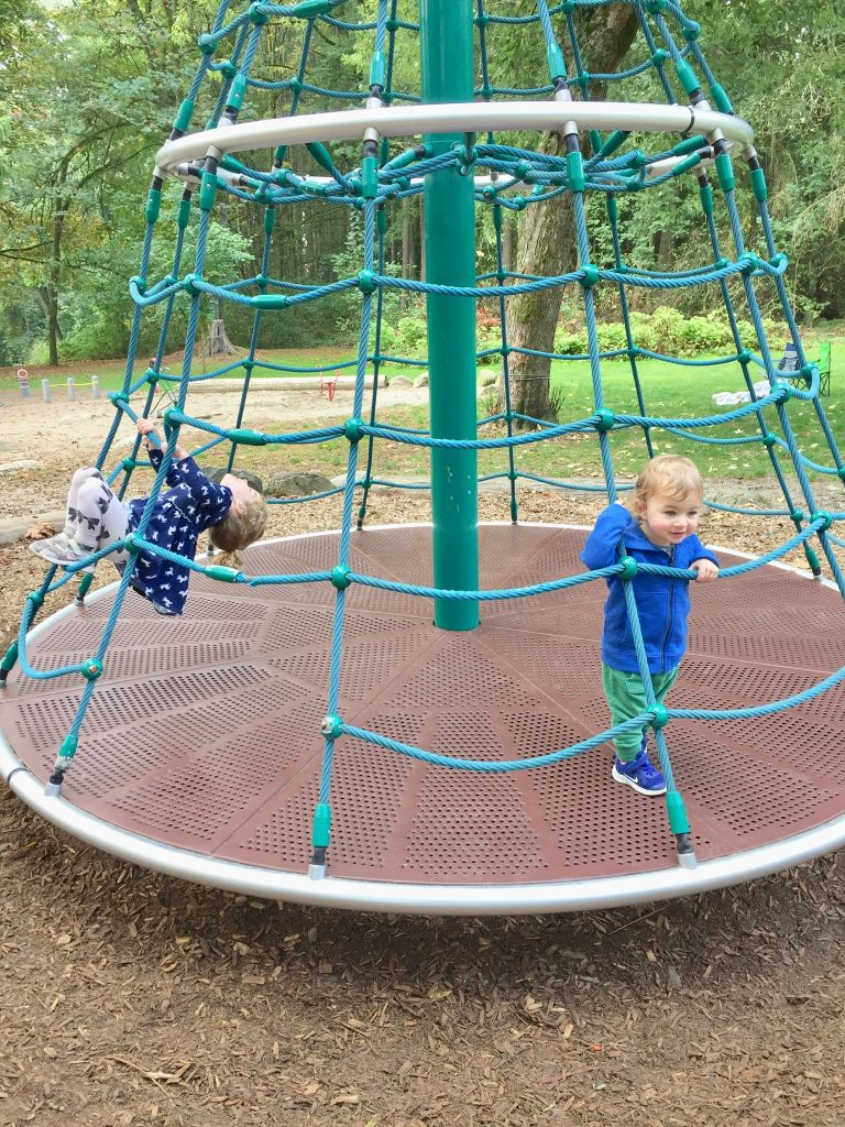 Redwood Park has one of the best playgrounds in South Surrey, BC
