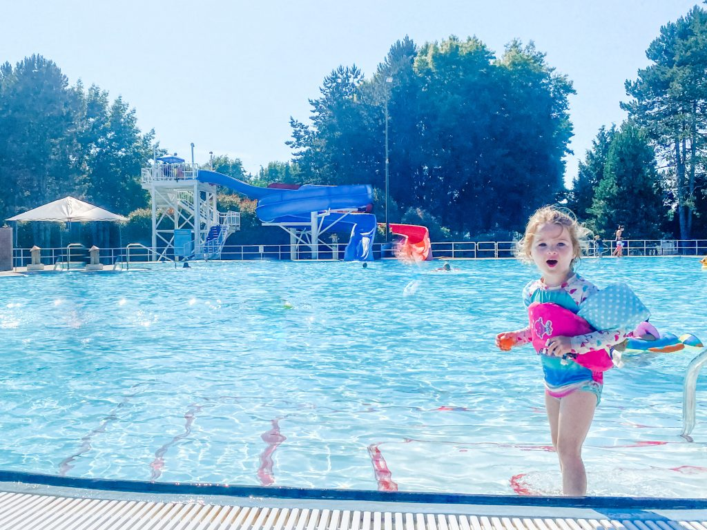 South Arm Pool is an amazing outdoor pool for kids in Vancouver, BC.