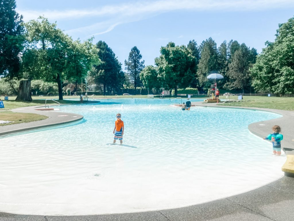 Maple Grove Pool is an amazing outdoor pool for kids in Vancouver, BC.