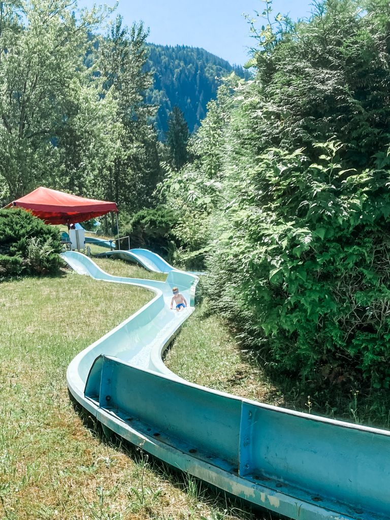 Bridal Falls Waterpark in the Fraser Valley is an amazing waterpark for kids near Vancouver, BC.